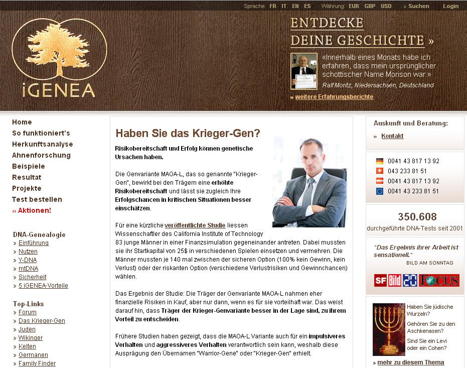 Test ADN Igenea